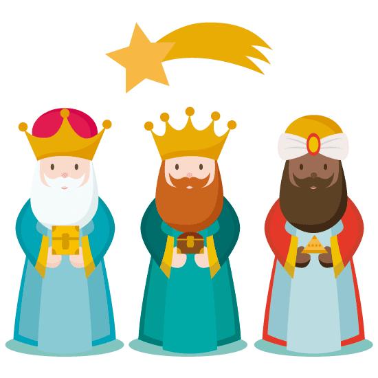 Reyes MAgos Cei Virgen Madre