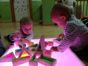 mesas de luz slide